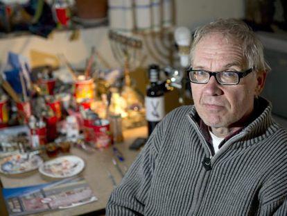 Lars Vilks em uma imagem de 2012.