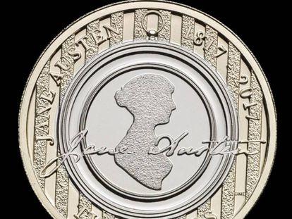 Moeda comemora 200 anos da morte da escritora Jane Austen