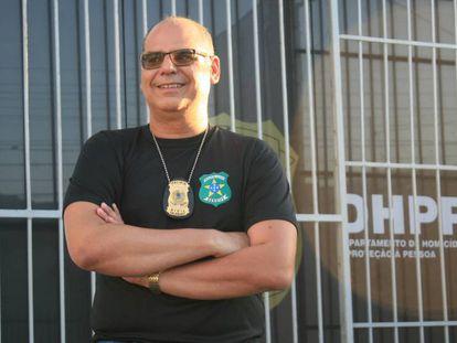 O delegado de polícia Mário Leony.
