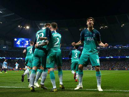Llorente marcou o gol que deu a classificação ao Tottenham.