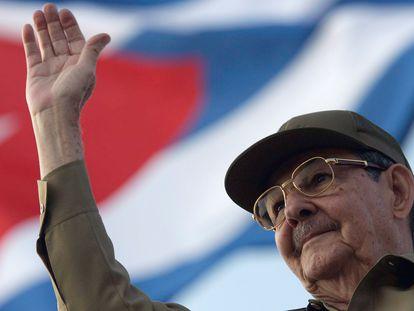 Raúl Castro, durante uma cerimônia em Havana, em 2008.