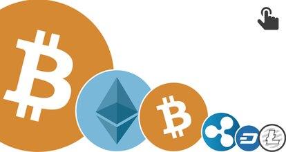 GRÁFICO: Valor do bitcoin e as principais criptomonedas