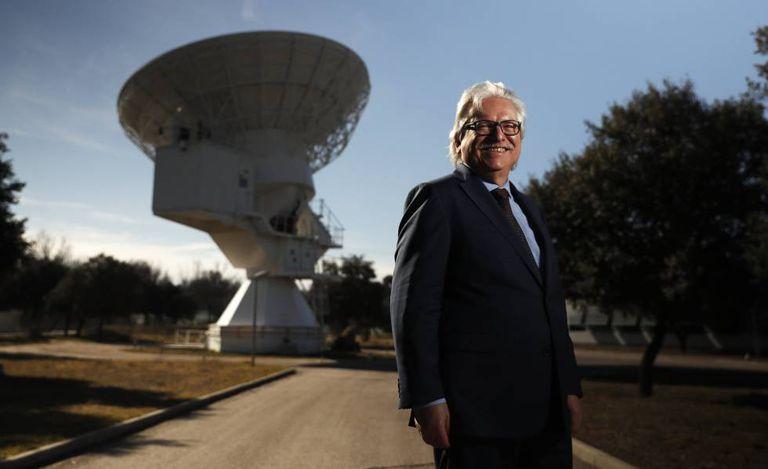 Günther Hasinger, novo diretor de ciência da Agência Espacial Europeia, nas instalações da ESA em Villanueva de la Cañada (Madri)