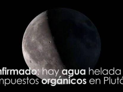 Plutão tem glaciares, água e compostos orgânicos