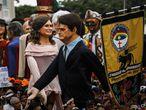 En la Ciudad de Olinda, Brasil, se utilizaron muñecos gigantes de Jair Bolsonaro y su esposa durante las celebraciones. El mandatario conservador causó controversia al compartir un video pornográfico en su cuenta de Twitter criticando el carnaval.