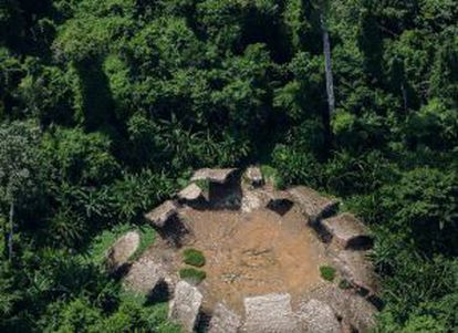 Maloca dos Moxihatetea, índios isolados que eram monitorados de longe desde a década de 70 pela Funai e sumiram.