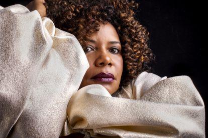 A cantora Margareth Menezes.