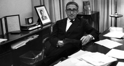 Kissinger, na Casa Branca em 1971.