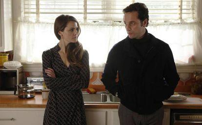 Os protagonistas da série 'The Americans'.