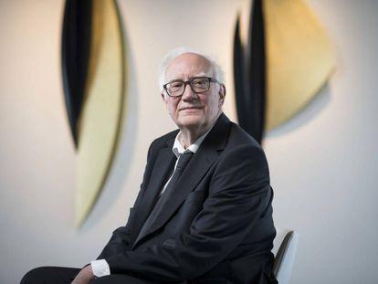Edward Palmer, na sede do BBVA em Madri.