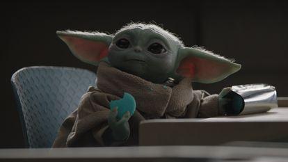 O Baby Yoda, na segunda temporada de 'The Mandalorian'.