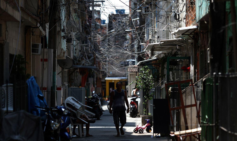 Uma comunidade do Rio de Janeiro.