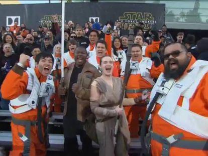 Estreia de 'Star Wars – O Despertar da Força', reúne vips de Hollywood