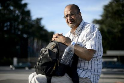 O jornalista e escritor Ali Lmrabet.