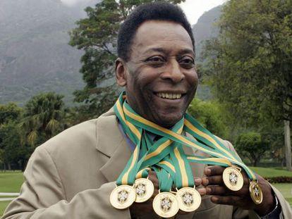 Edson Arantes do Nascimento, 'Pelé', em 2010.