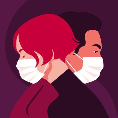 Com a máscara inegociável, como ficam as abordagens para o sexo?