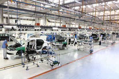 Fábrica da Volkswagen em Taubaté (SP).