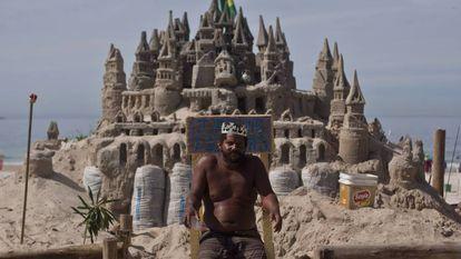 Márcio Mizael Matolas mora no seu próprio castelo no Rio.