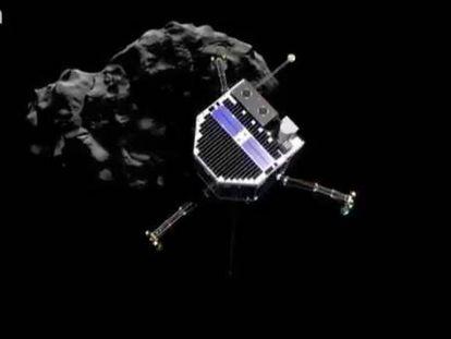 Sonda 'Philae' fez três aterrissagens no cometa ao ricochetear duas vezes