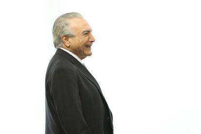 Michel Temer, presidente interino.
