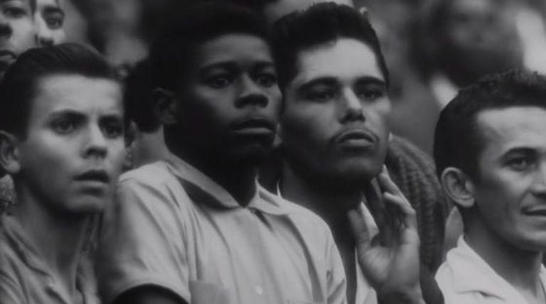 Fotograma do documentário sobre o 'Maracanazo'.