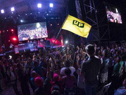 Imagem da X Conferência das FARC.