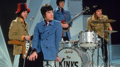 Os irmãos Ray e Dave Davies formaram em 1963 a banda britânica The Kinks.