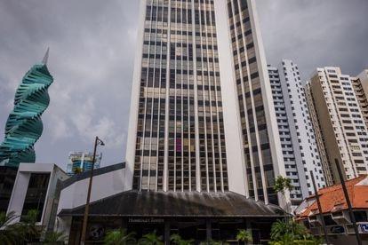 Escritório Alcogal, na Torre Humboldt, na Cidade do Panamá.