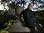 Michel Mayor, este martes en Madrid, horas después de que le comunicaran la concesión del Nobel.