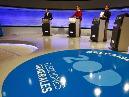Ensaio do debate. / BERNARDO PÉREZ / EL PAIS VÍDEO