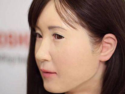 Aiko Chihira, androide recepcionista criada pela Toshiba.