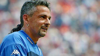 Budista e militante, Baggio encerrou a carreira pelo Brescia, em 2004.