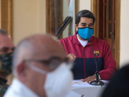 Nicolás Maduro, em 22 de março, em Caracas.