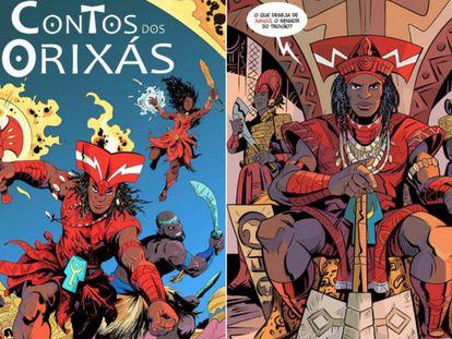 'Contos dos Orixás' transforma divindades afro em super-heróis de gibi