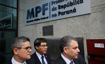 Os promotores peruanos começaram na terça-feira o interrogatório do ex-diretor da Odebrecht Jorge Barata