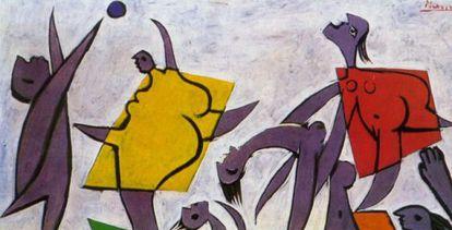'Le sauvetage', de Picasso, vendido por 31,5 milhões de dólares.
