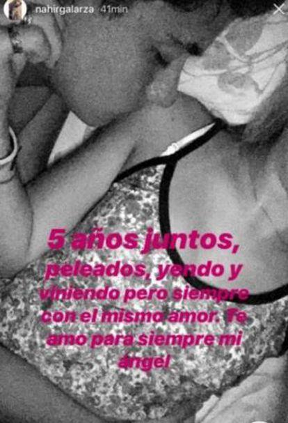 A mensagem postada por Galarza nas redes depois de matar o namorado