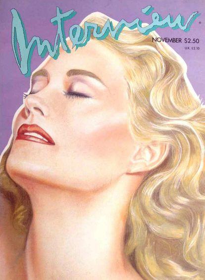 Cybill Shepherd, capa de novembro de 1986