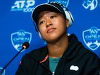 Naomi Osaka of Japan talks to the media ahead of the 2021 Western & Southern Open WTA 1000 tennis tournament AFP7  16/08/2021 ONLY FOR USE IN SPAIN