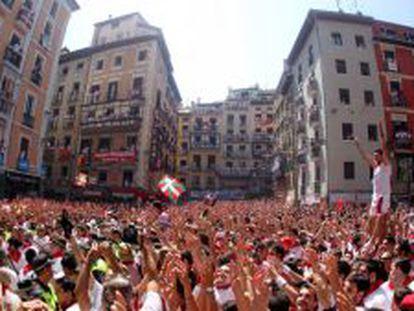Vídeo | O tiro inicial das Festas de São Firmino 2015 em 360°
