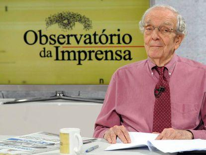 O jornalista Alberto Dines.