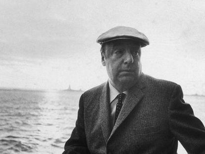 Pablo Neruda, em foto de 1966.