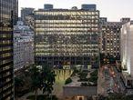 O Edifício Gustavo Capanema, conhecido como Palácio Capanema, no Rio de Janeiro.