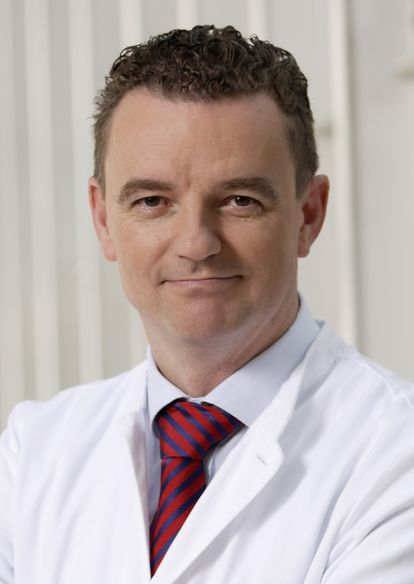 Clemens Wendtner, médico-chefe do hospital Schwabing, em Munique.