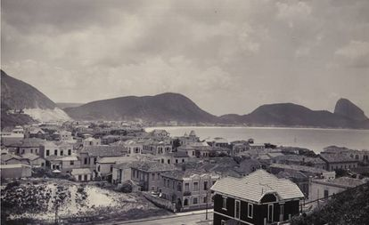 Copacabana e Leme, Rio de Janeiro, nos anos 1920.