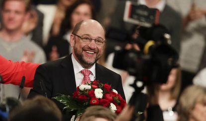 Martin Schulz, eleito candidato do SPD.