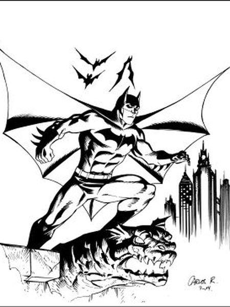 O Batman exclusivo para EL PAÍS assinado pelo desenhista Carlos Rodríguez.