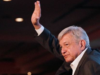 Andrés Manuel Lopez Obrador, favorito na eleição no México.