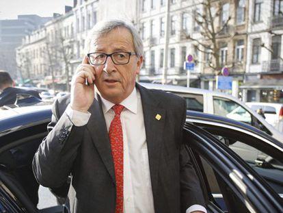 O presidente da Comissão Europeia, Jean Claude Juncker.