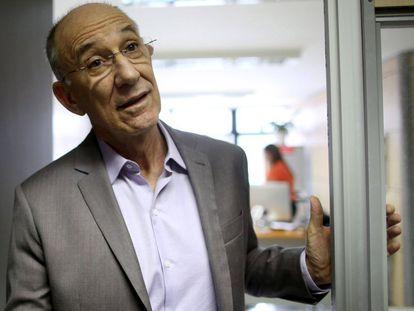 O presidente do PT, Rui Falcão, em Brasília.